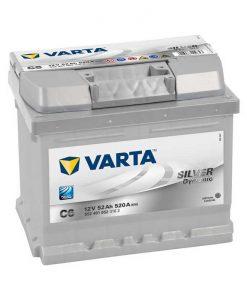 Акумулатор VARTA SILVER DYNAMIC 52AH 520A R+