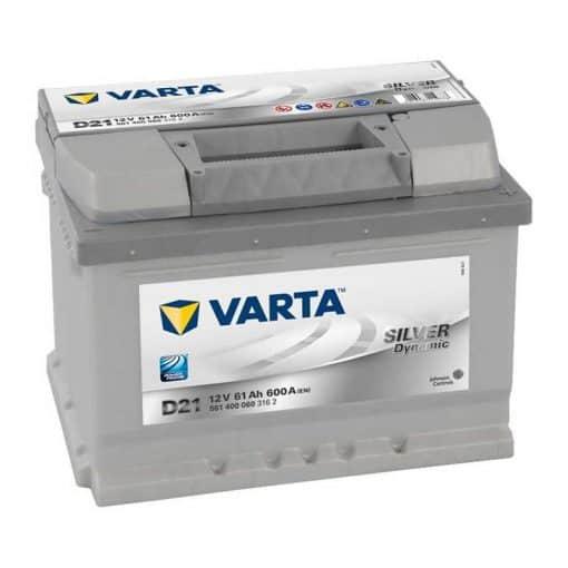 Акумулатор VARTA SILVER DYNAMIC 61AH 600A R+