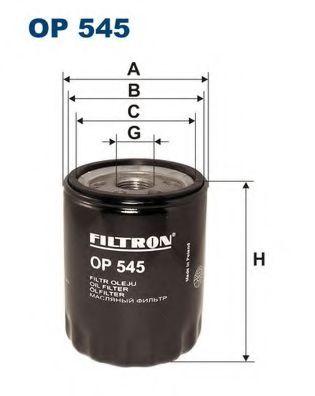 Маслен филтър (OP 545 - FILTRON)
