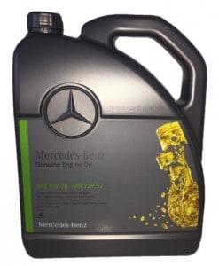 Оригинално масло MERCEDES BENZ MB 000 989 95 02 13 5W30 NEW - 5L