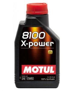 Масло Motul 8100 X-power 10W60 1L