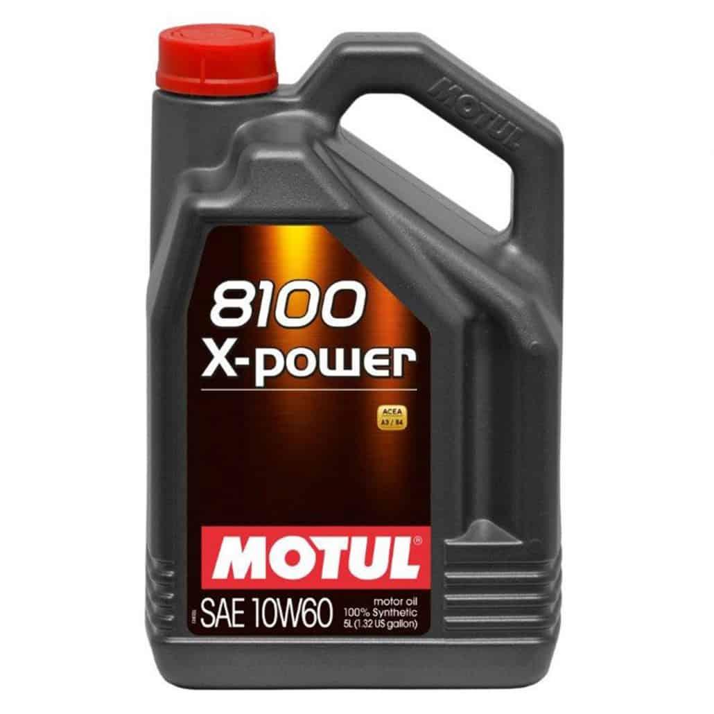 Масло Motul 8100 X-power 10W60 5L