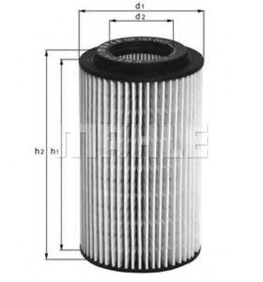 Маслен филтър (OX153D3 - KNECHT)