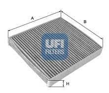 Филтър, въздух за вътрешно пространство (54.119.00 - UFI)