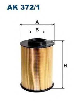 Въздушен филтър (AK 372/1 - FILTRON)