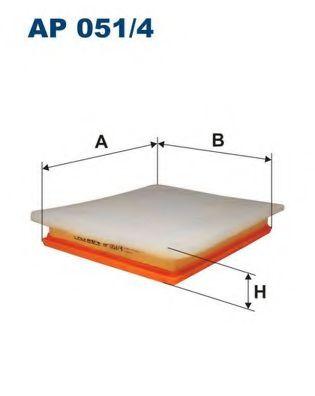 Въздушен филтър (AP 051/4 - FILTRON)