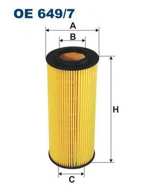 Маслен филтър (OE 649/7 - FILTRON)