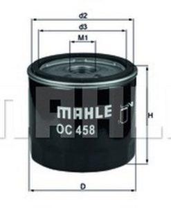 Маслен филтър (OC458 - KNECHT)