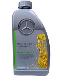 Оригинално масло MERCEDES BENZ MB 229.51 5W30- 1литър