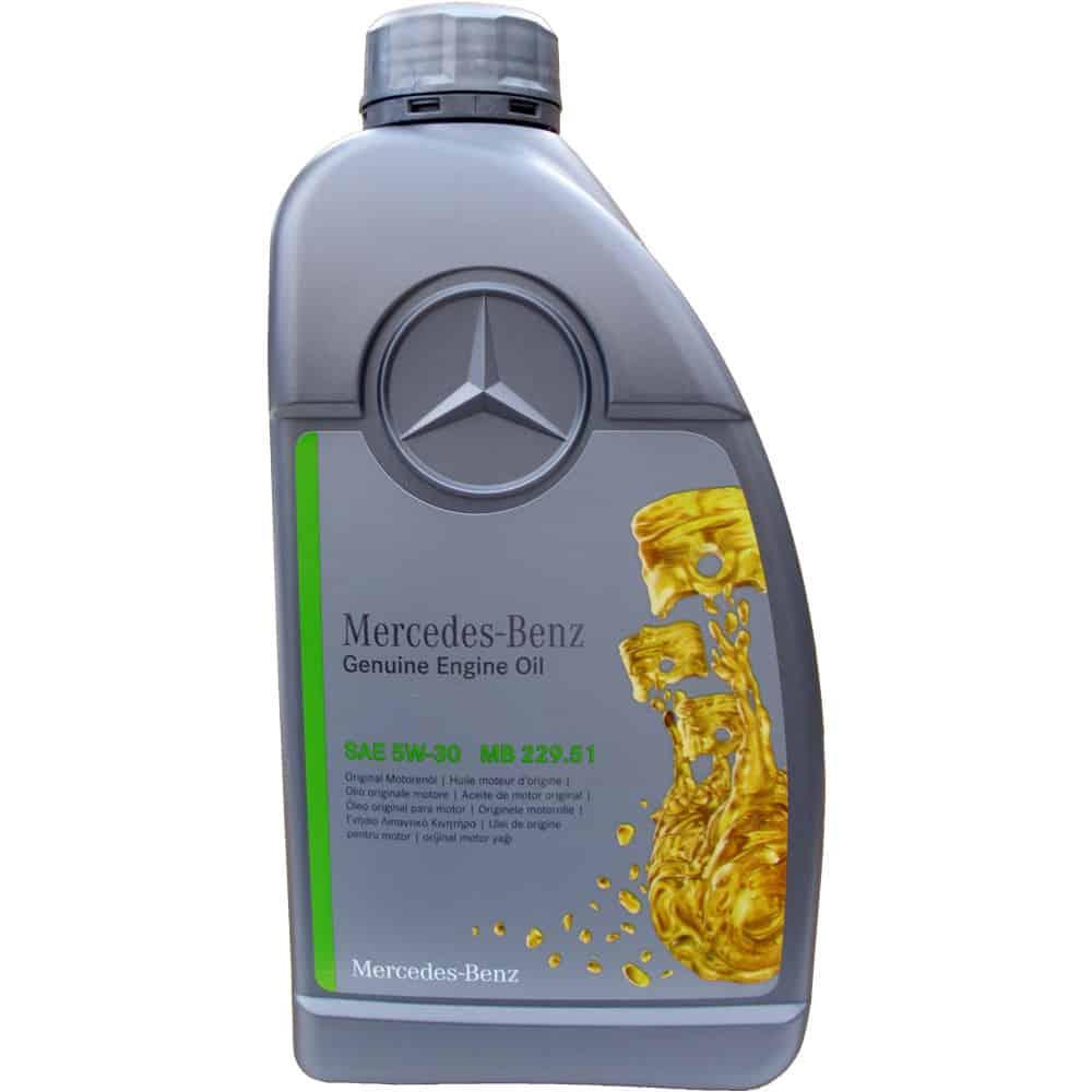 Оригинальное моторное масло Мерседес