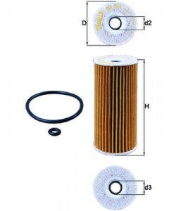 Маслен филтър (OX201D - KNECHT)