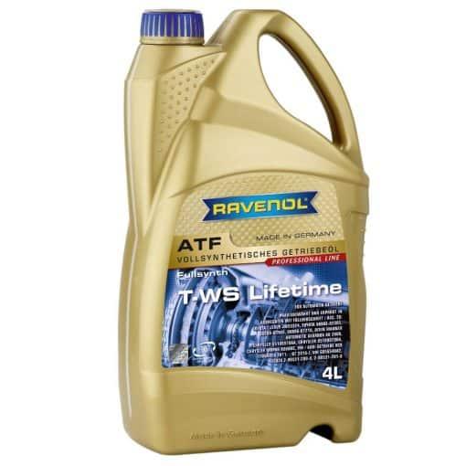 Трансмисионно масло RAVENOL ATF T-WS Lifetime 4L