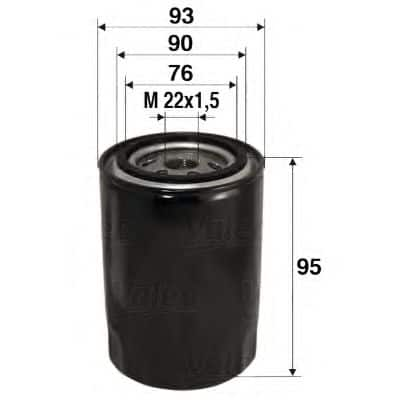 Маслен филтър (586006 - VALEO)