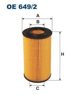 Маслен филтър (OE649/2 - FILTRON)