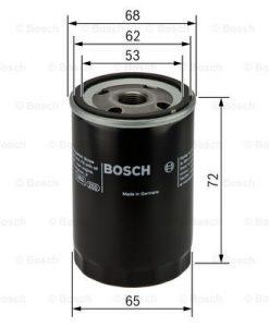 Маслен филтър (0 986 452 028 - BOSCH)