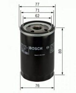 Маслен филтър (0 986 AF1 034 - BOSCH)