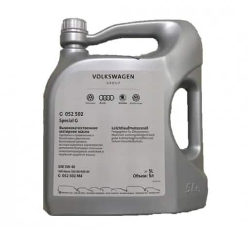 Оригинално масло VAG G052 502 M4G 5w40 - 5л