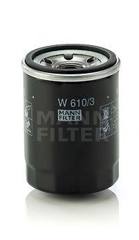 Маслен филтър (W 610/3 - MANN)