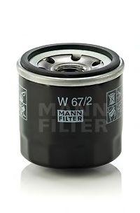 Маслен филтър (W 67/2 - MANN)