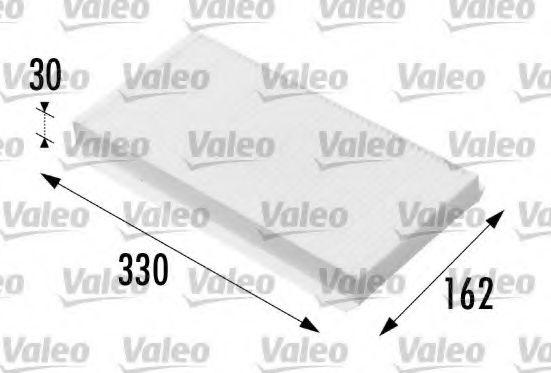 Филтър въздух за вътрешно пространство (698711 - VALEO)