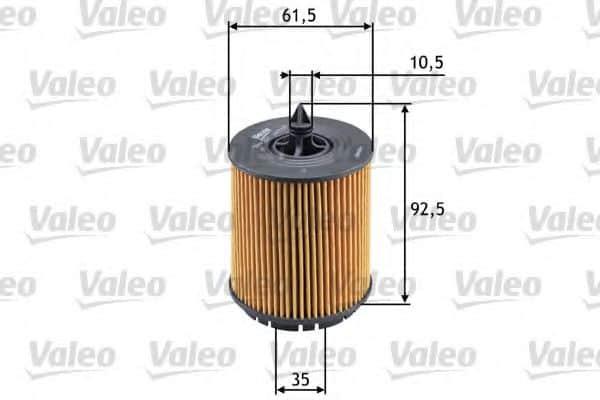 Маслен филтър (586563 - VALEO)