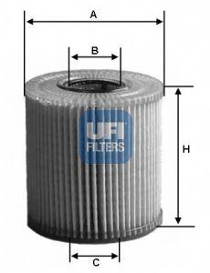 Маслен филтър (25.002.00 - UFI)