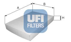 Филтър въздух за вътрешно пространство (53.042.00 - UFI)