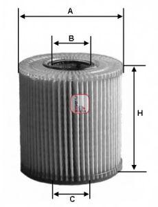 Маслен филтър (S 5002 PE - SOFIMA)