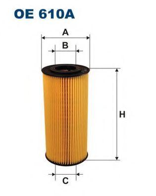 Маслен филтър (OE 610A - FILTRON)