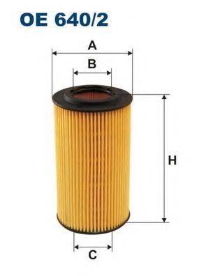 Маслен филтър (OE 640/2 - FILTRON)