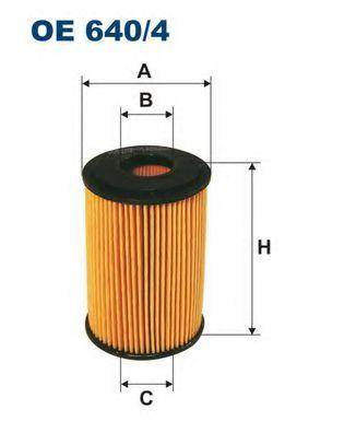 Маслен филтър (OE 640/4 - FILTRON)