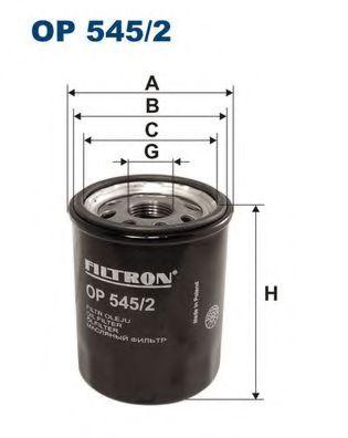Маслен филтър (OP 545/2 - FILTRON)