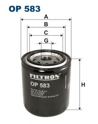 Маслен филтър (OP 583 - FILTRON)