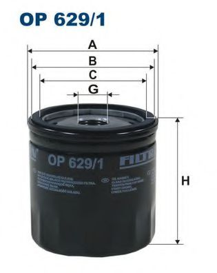 Маслен филтър (OP 629/1 - FILTRON)