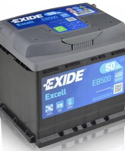 Акумулатор EXIDE EXCELL 50AH 450A R+Акумулатор EXIDE EXCELL 50AH 450A R+