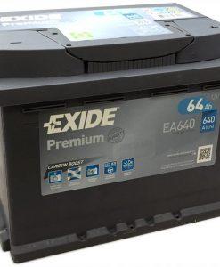 Акумулатор EXIDE PREMIUM 64AH 640A R+