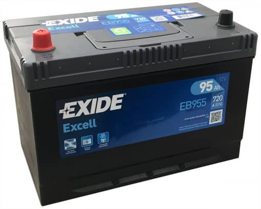 Акумулатор EXIDE EXCELL 100AH 720A L+