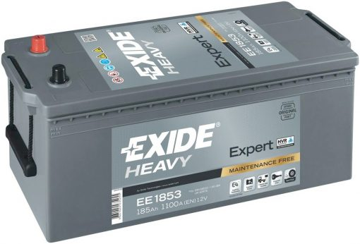 Акумулатор EXIDE HEAVY EXPERT HVR 185AH 1100A L+