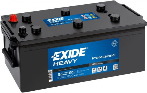Акумулатор EXIDE HEAVY PROFESSIONAL HD 215AH 1200A