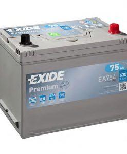 Акумулатор EXIDE PREMIUM 75AH 630A L+ JIS