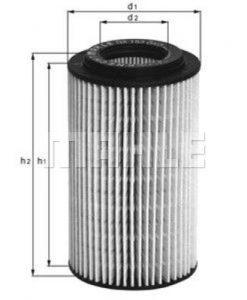 Маслен филтър (OX135/1D - KNECHT)