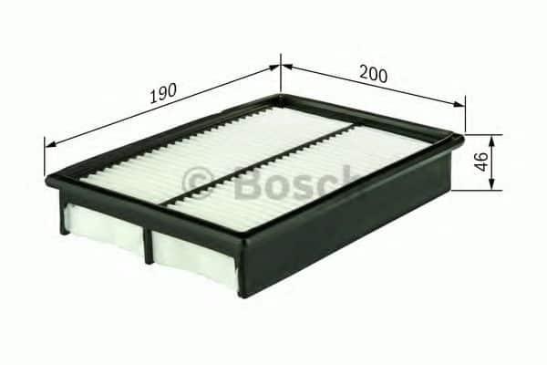 Въздушен филтър (1457433955 - BOSCH)