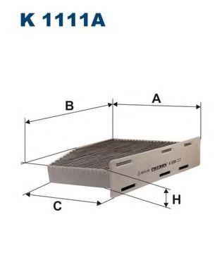Филтър въздух за вътрешно пространство (K 1111A - FILTRON)