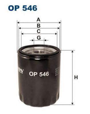 Маслен филтър (OP 546 - FILTRON)