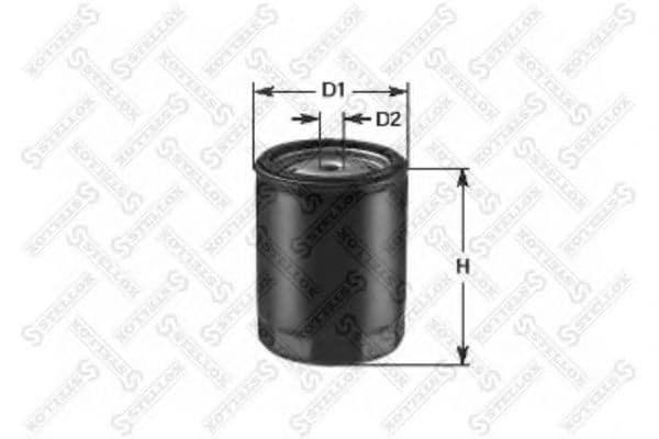Маслен филтър (20-50466-SX - STELLOX)