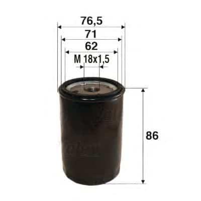 Маслен филтър (586010 - VALEO)