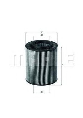Маслен филтър (OX154/1D - KNECHT)