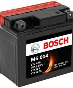 Акумулатор BOSCH M6 AGM YTX5L-BS 4AH 30A 12V R+