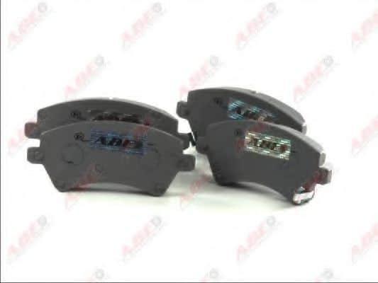 Комплект спирачно феродо дискови спирачки (C12101ABE - ABE)