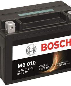 Акумулатор BOSCH M6 AGM YTX9-BS 8AH 135A 12V L+